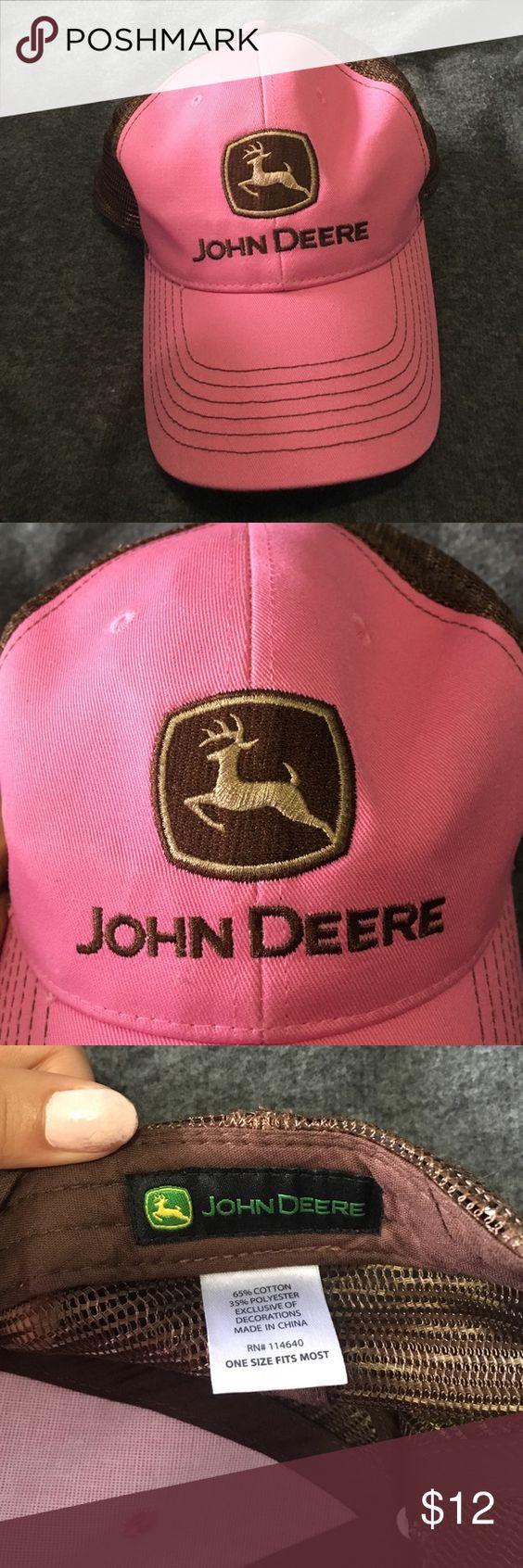 John Deere hat Great condition! John Deere Accessories Hats
