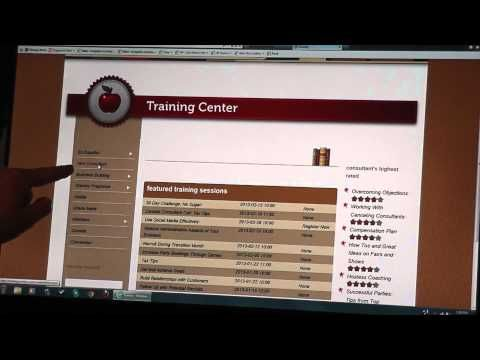 How to Login to your Scentsy Workstation & use the Training Center. Helpful!