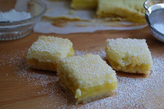 Luscious Lemon Bars. I'm going to make these soon!