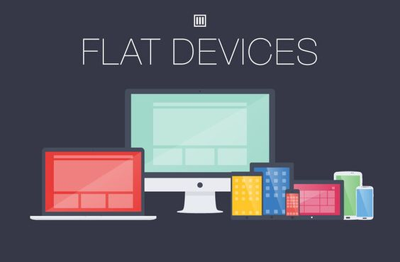 Check out Flat Devices by LainLee3Design on Creative Market