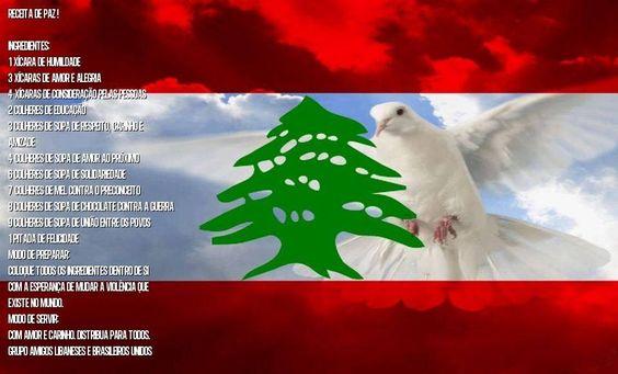 Bandeira do Líbano