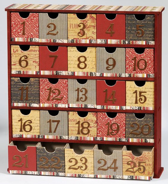Advent Boxes And Advent Calendar On Pinterest