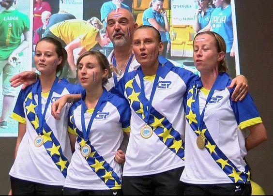 Championnat d'Europe féminin en Slovaquie, la France s'impose face à l'Espagne