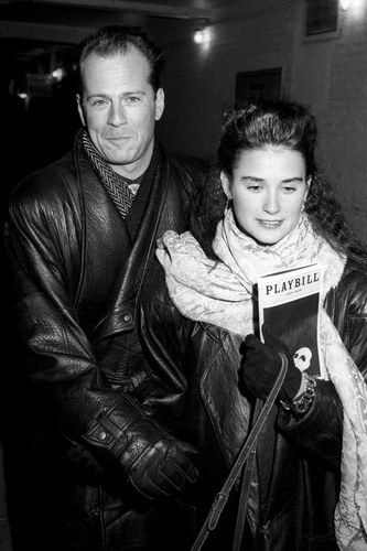 Bruce Willis and Demi Moore married in 1987