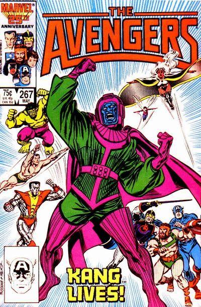 Avengers # 267 by John Buscema & Tom Palmer - my first Avengers comic!
