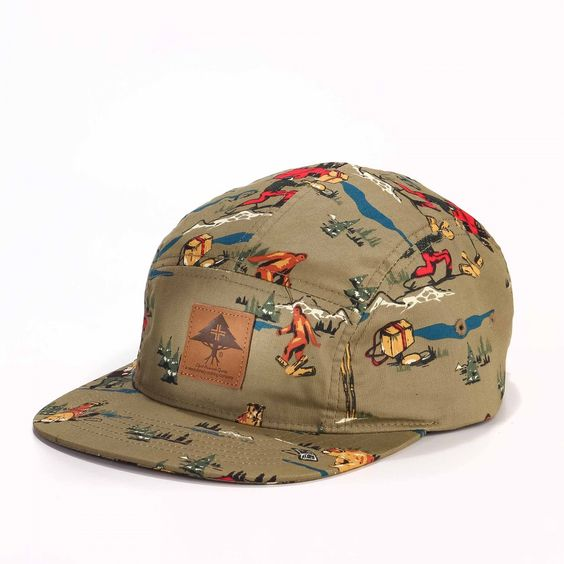 camper boyscout hatt