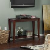 Found it at Wayfair - Overbrook Media Console in Brown Cherry