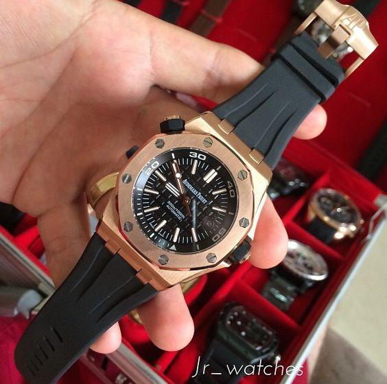Audemars Piguet Royal Oak Offshore Diver | Watches | Pinterest ...