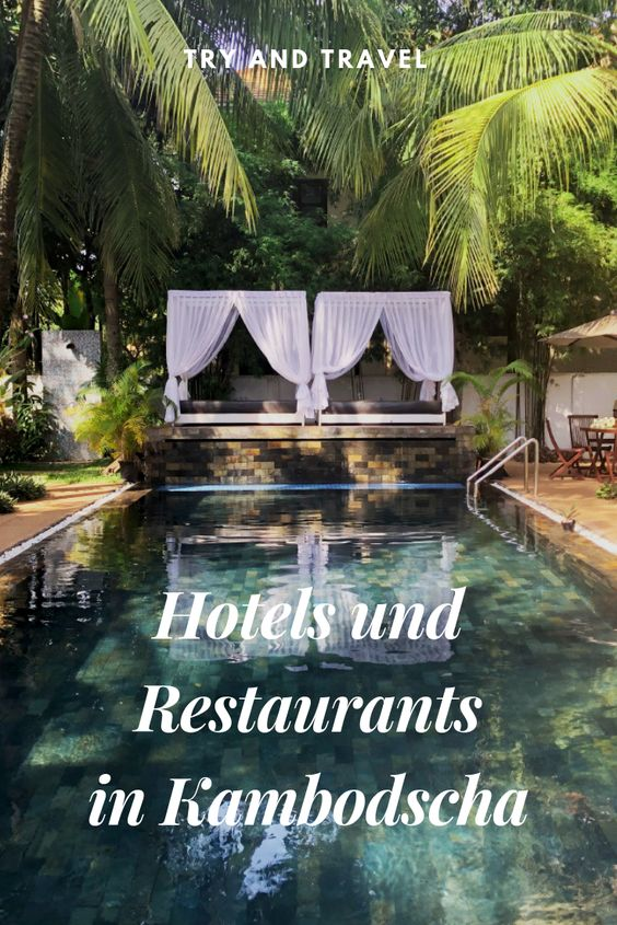 Hotels und Restaurants in Kambodscha