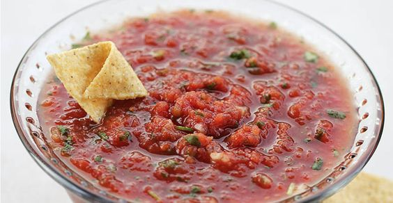 Absolutely Nothing Beats Having Salsa Homemade – Here's a Quick Version For Ya, Get Your Tortilla Chips Ready!