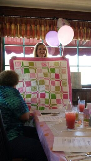 Shannon's baby quilt.