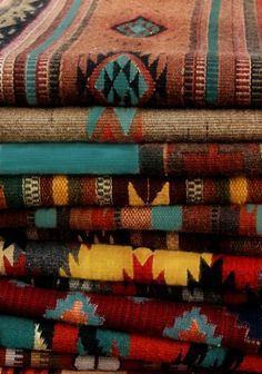 Southwestern textiles giving me all the feels.