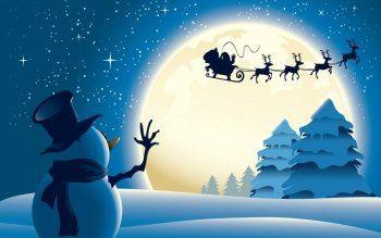 Desktop Hintergrundbilder Weihnachtsmann