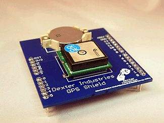 Arduino GPS Shield - Dexter Industries