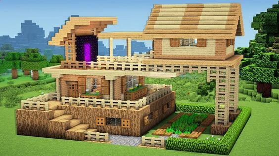 แนวสร้างบ้านมายคราฟ สวยๆ