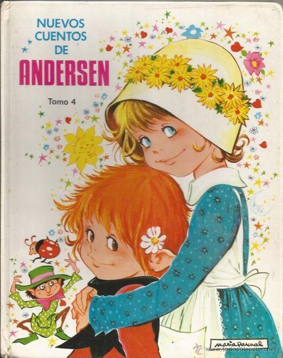* LJ12 - NUEVOS CUENTOS DE ANDERSEN TOMO 4 - ILUSTRADO POR MARIA PASCUAL (Libros de Lance - Literatura Infantil y Juvenil - Cuentos):