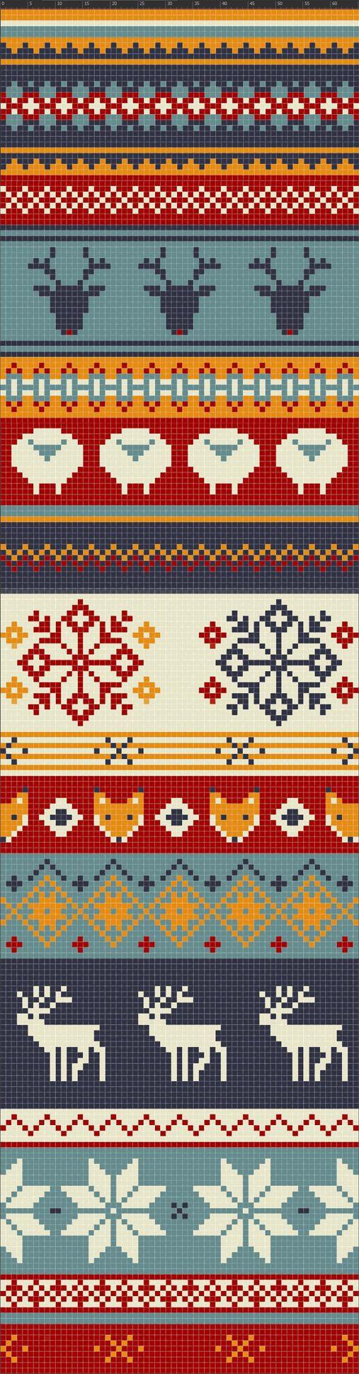 28 bästa bilderna om Fair Isle Knitting Patterns på Pinterest | Fair ...