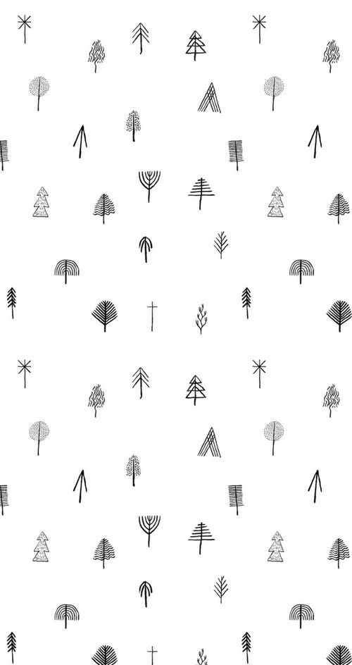 Tumblr Black And Black And White Image On We Heart It Christmas Tree Wallpaper Iphone Wallpaper Iphone Christmas Tree Wallpaper Iphone