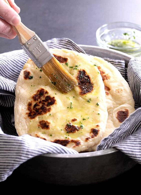 Gluten Free Naan Bread | The Softest Flatbread Recipe
