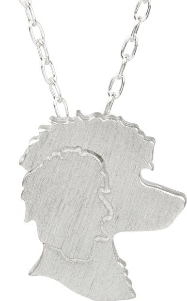 poodle charm necklace