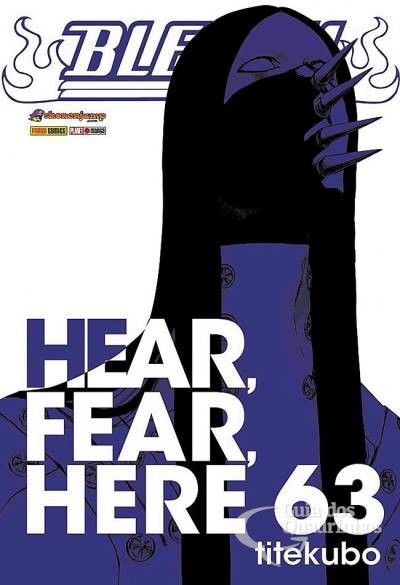 LIGA HQ - COMIC SHOP BLEACH #63 - Bleach - Mangá PARA OS NOSSOS HERÓIS NÃO HÁ DISTÂNCIA!!!