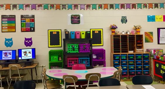 Neon Classroom Decor : Classroom setup colors and the o jays on pinterest
