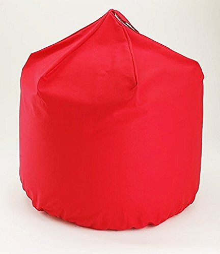 Hallways Bean Bag Extra Large Cotton Red With Beans Hallw…
