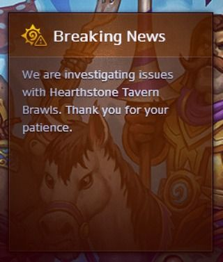 Not a strong start for this week's Tavern Brawl #hearthstone