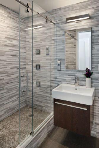 Details About 5ft Frameless Sliding Glass Shower Door