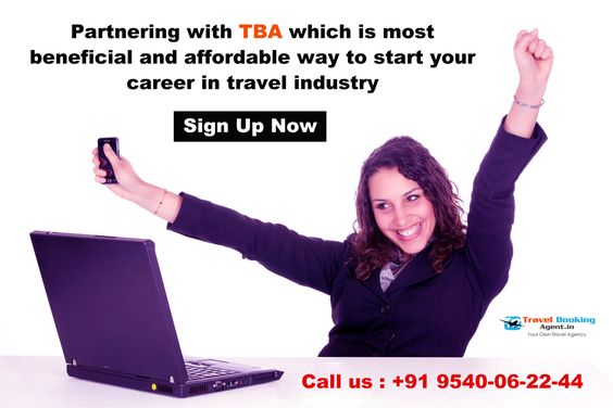 Partnering with TBA (Travel Booking Agent) which is most beneficial and affordable way to start your career in travel industry.  Know more visit : http://www.travelbookingagent.in/