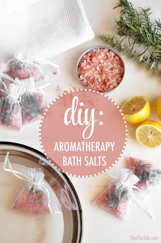 Creating DIY Aromatherapy Bath Salts