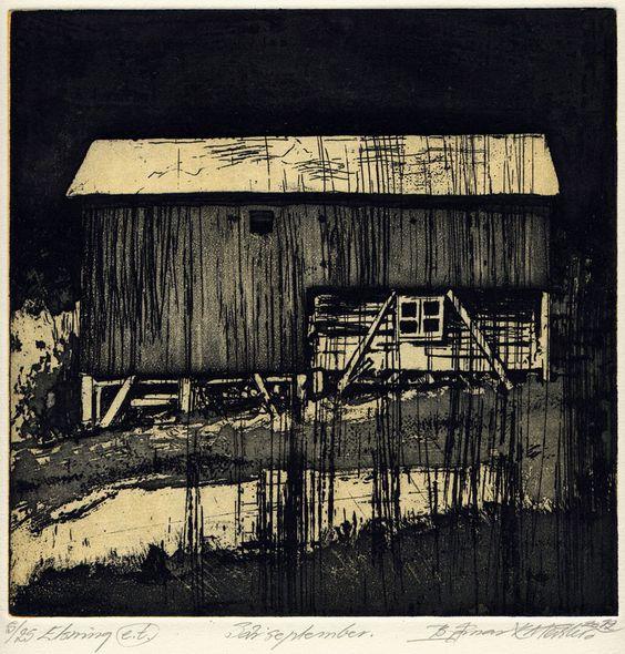 Etching // Bjørnar K. Meisler // 2012