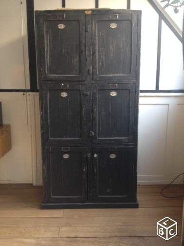 Meuble de métier, vestiaire en bois Idées rénovation maison