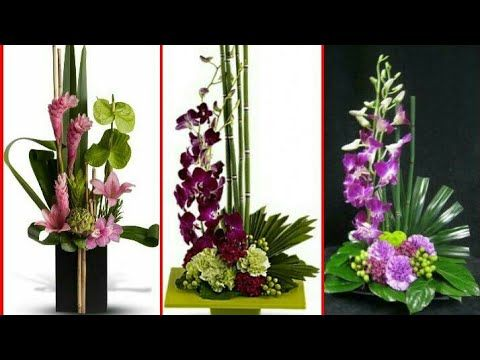 Latest Flower Arrangement Style Simple And Elegant Flower Decor Ideas Youtube Cvety Idei Sukkulenty