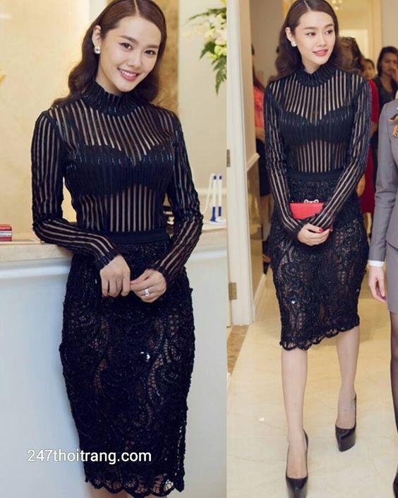 Những bộ váy dự tiệc quyến rũ của Sao Việt trên thảm đỏ 7