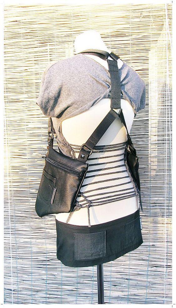 HOLSTER bAg // Unisex // ADJUSTABLE // Vegan leather // by bia23, €49.00