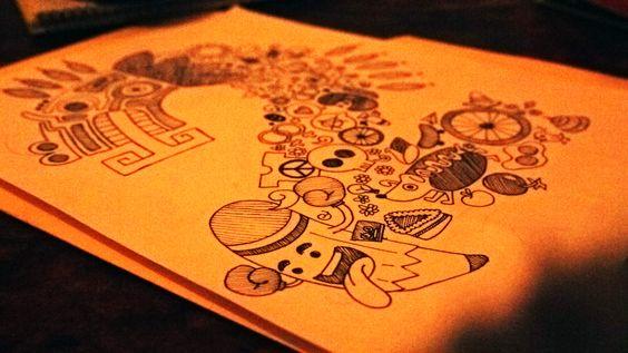 Algo para #Ilústramesta2 / http://www.cmyklab.com.mx/ilustramesta-2-certamen-encuentro/