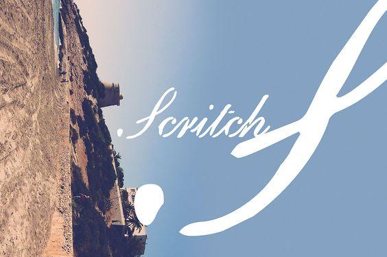 Scritch – Free Grunge Script Font