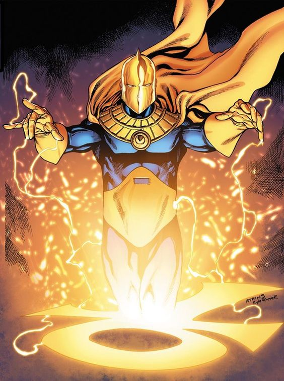 Dr. Fate as drawn by Robert Atkins