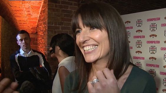 Davina McCall on women, the bath and her DVD at the Cosmopolitan Ultimate Women of the Year Awards.