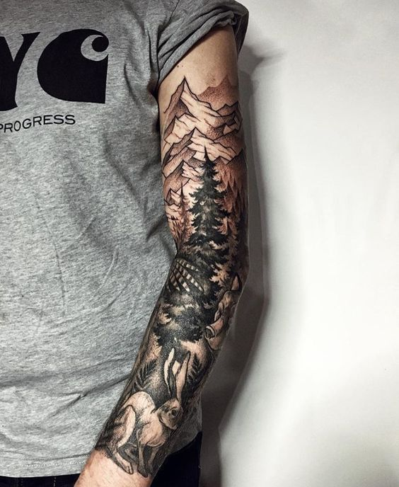 Forearm Tattoos Ideas Forearm Tattoos Designs With Meaning Nature Tattoo Sleeve Full Sleeve Tattoos Tattoo Sleeve Designs