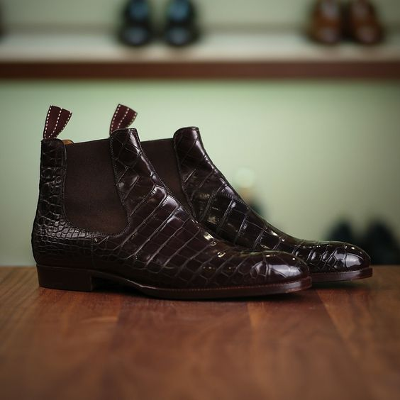 Black dress boots mens 400