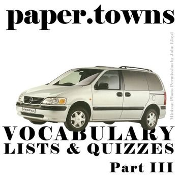 paper towns vocabulary Category music song radio artist santigold licensed to youtube by wmg (on behalf of atlantic records) ascap, solar music rights management, emi music publishing, ubem, downtown music.