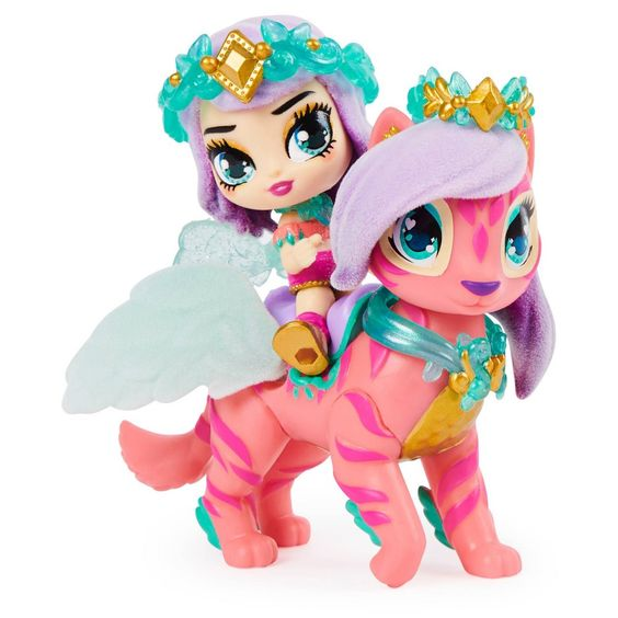 Hatchimals Pixies Riders Radiant Roxy Pixie Tigrette Glider Hatchimal Set With Mystery Feature Pixie Hatchimals Kids Dance Outfits