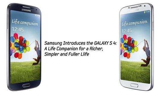 El Samsung Galaxy S4 llegará a finales del mes a Estados Unidos