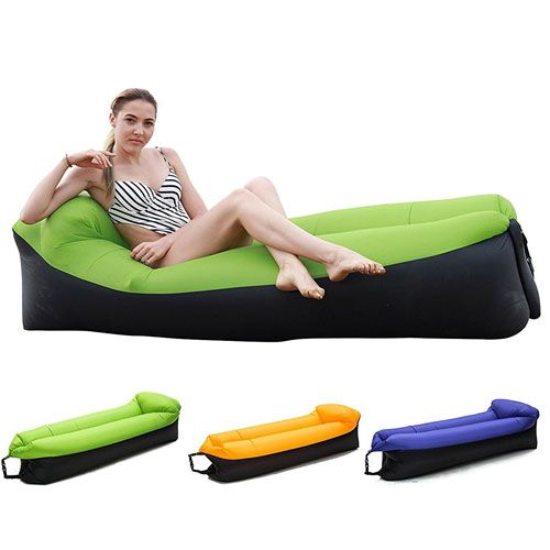 Hake Inflatable Lounger Inflatable Couch Air Lounger Air Chair