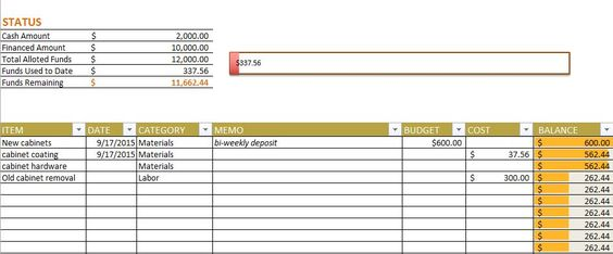 Free Budget Templates in Excel for Any Use Household / organizing