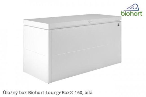 Ulozny Box Loungebox 160 Bila Outdoor Storage Outdoor Storage Box Storage Box