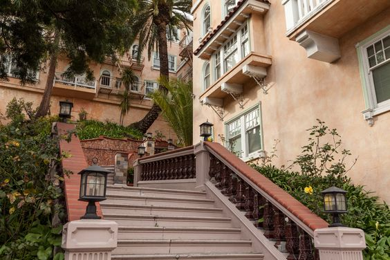 Beautiful stairway to...in Nob Hill, San Francisco