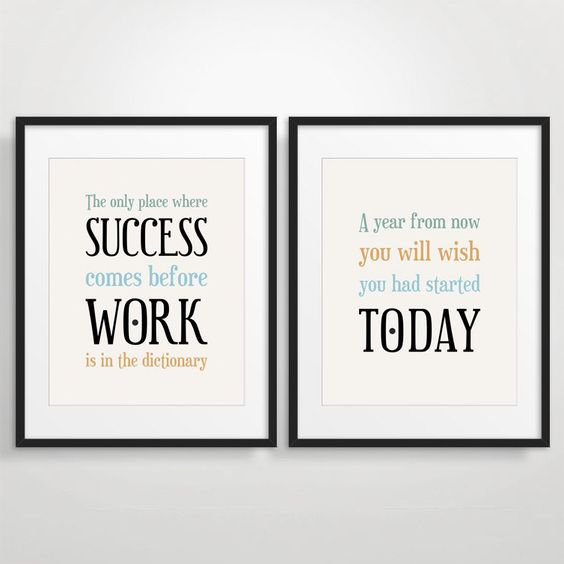office decor typography posters inspirational by beautifultype 2100 art force office decoration